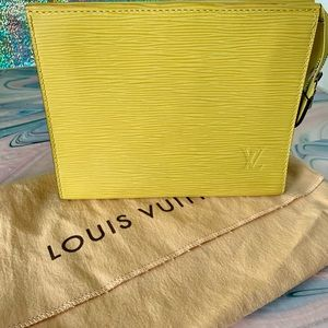 Louis Vuitton Epi Leather Large Toiletry Bag